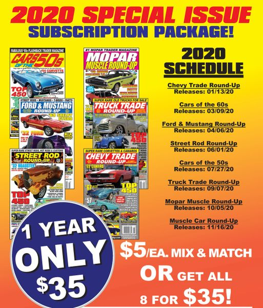 2020 Special Issue Subscription Package - Get 7 Issues for a Discount!