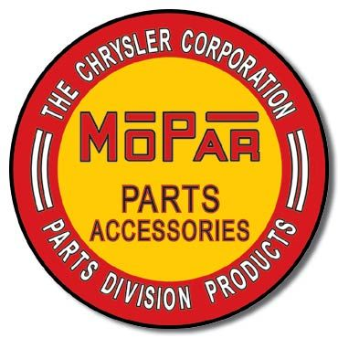 Mopar Parts & Accessories Metal Sign