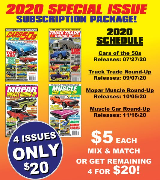 2020 Special Issue Subscription Package - Get 4 Issues for a Discount!