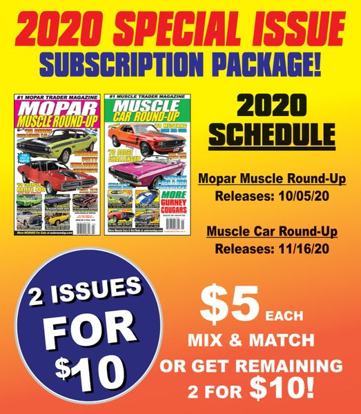 2020 Special Issue Subscription Package - Get 2 Issues for a Discount!