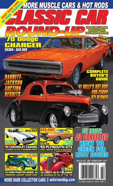Classic Car Round-Up Subscription