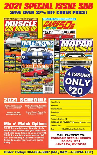 2021 Special Issue Subscription Package