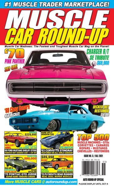 Muscle Car Round-Up (2021)