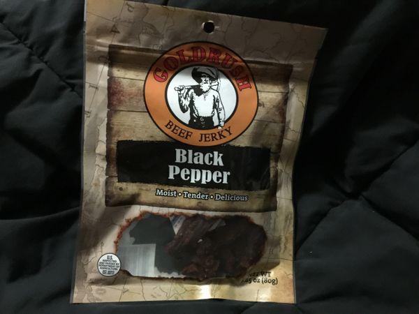 Gold Rush Black Pepper Beef Jerky 2.85oz