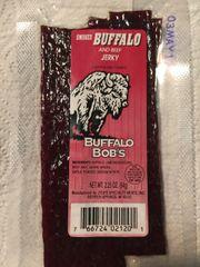 Buffalo Bob's Smoked Buffalo Jerky
