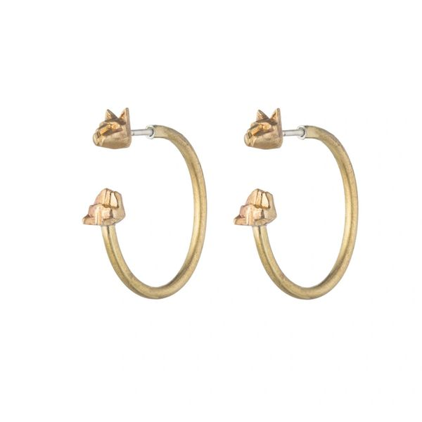 Natalie Frigo Medium Cat Hoops