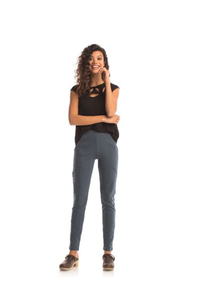 Synergy Organic Cotton Charger Skinny Pants (Orion blue)