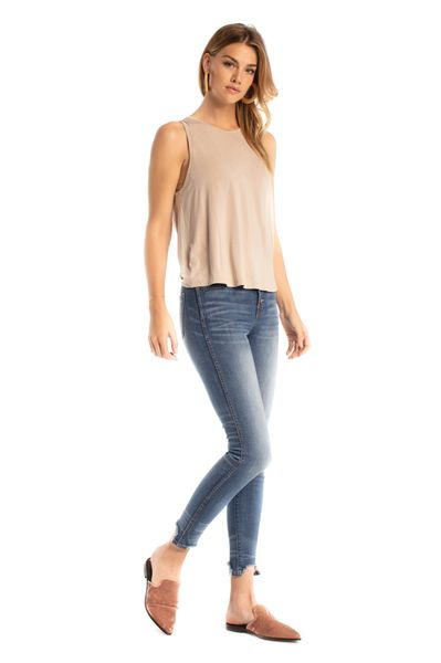 Synergy Organic Clothing-Breathe Tank (Cashmere)