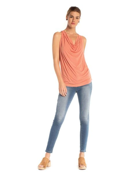 Synergy Organic Clothing-Layla Top (Canyon Clay)