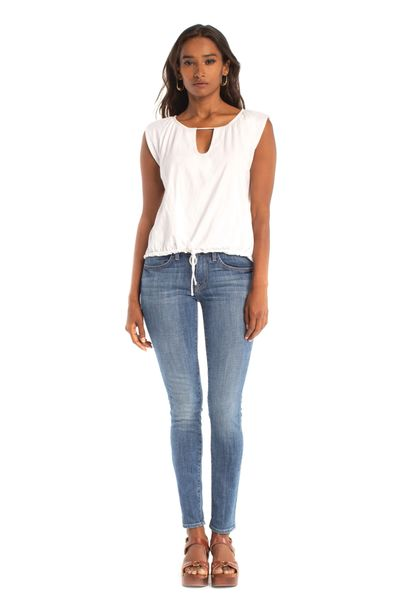 Synergy Organic Clothing-Sweet Spot Top (White)