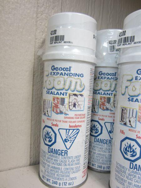 Geocel Expanding Foam Sealant 43100 12 ounce