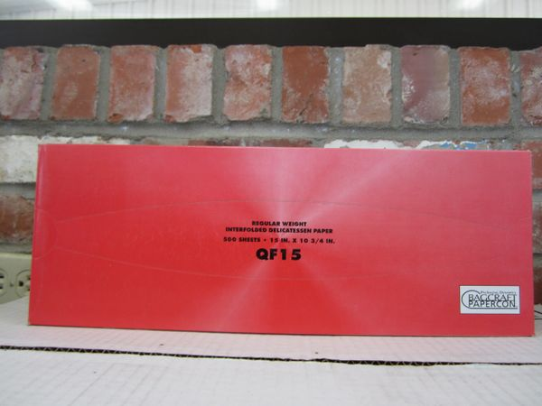 Bancroft Paper Deli Sheets - Large QF15