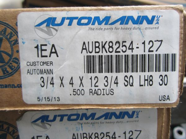 "U Bolt Kit 3/4""x4""x12-7/8"" (K241-296) AUBK8254-127"