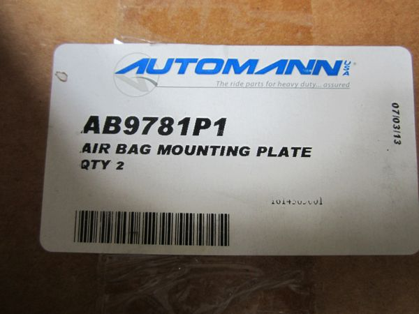 Air Bag Mounting Plate FL (AB9781P1/1614365001)