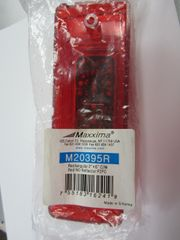 "Maxxima M20395R Red 2"" x 6"" Clearance Marker Light"