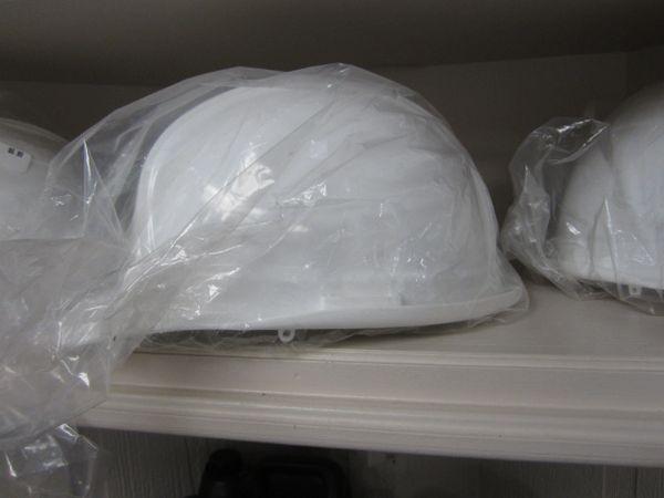 White Hard Hat MSV100WHT