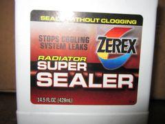Zerex Radiator Super Sealer - 14.5 ounce bottle