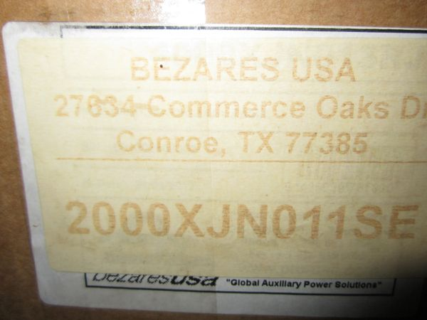 Bezares USA Bottom Mount 8 Bolt Air SH 200XJN011SE