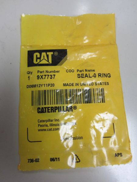 Caterpillar 9X7737 Seal O Ring