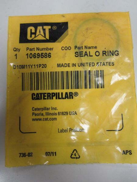 Caterpillar Seal O Ring (1069586)
