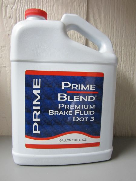 Premium Brake Fluid - Gallon (DOT3)
