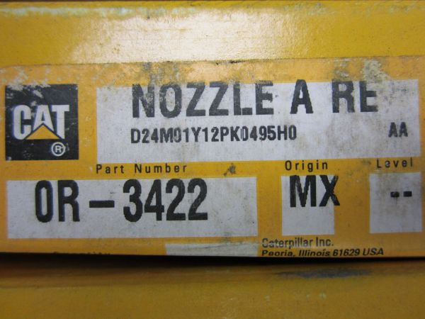 Caterpillar Remanufactured Nozzle 0R3422