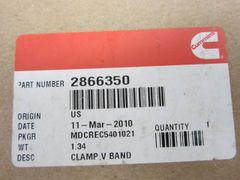 Cummins V Band Clamp 2866350CUM