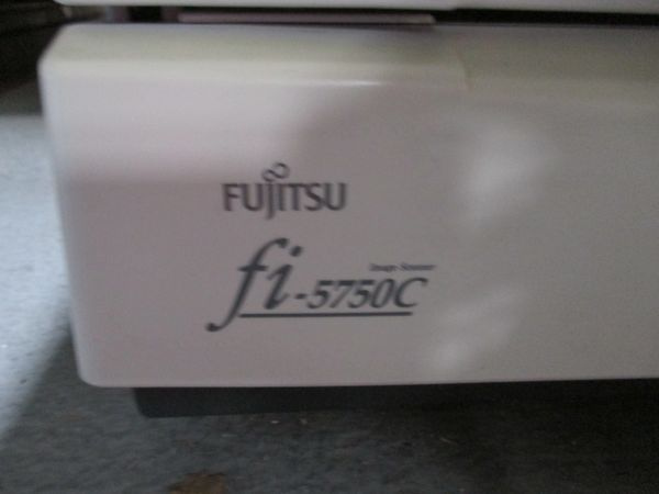 Fujitsu fi-5750c Flatbed Scanner with Auto Feed