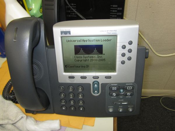 Cisco IP VOIP Telephone 7960/7960G