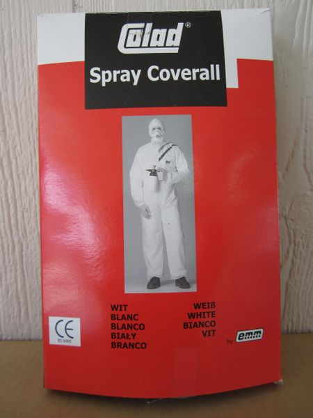 Colad Nylon Spray Coverall - Size Large #513056