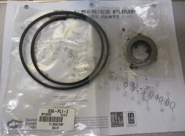 Muncie Products PL1 Series Pump Seal Kit GSK-PL1-2/GSKPL12