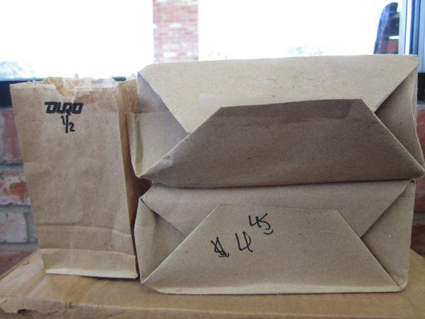 1/2# Brown Paper Bags