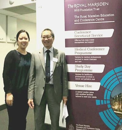 Dr Fiona Tsang-Wright and Mr Gerald Gui, Consultant Breast Surgeons