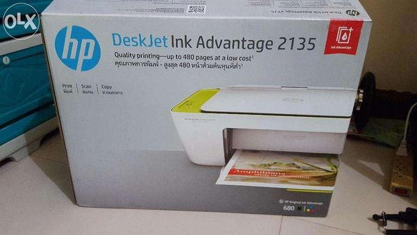 HP Deskjet Ink Advantage 2135 All-in-one USB Printer