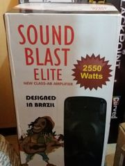 Sound Black 2550 Watts