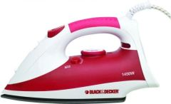Big Black & Decker Iron (Red, Green & Purple)