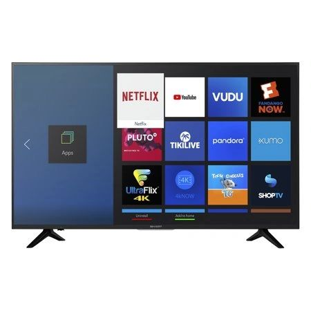 "Samsung 43"" smart TV (0 in Stock)"