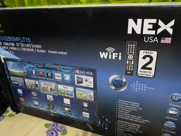 """32"""" NEX Smart TV"""