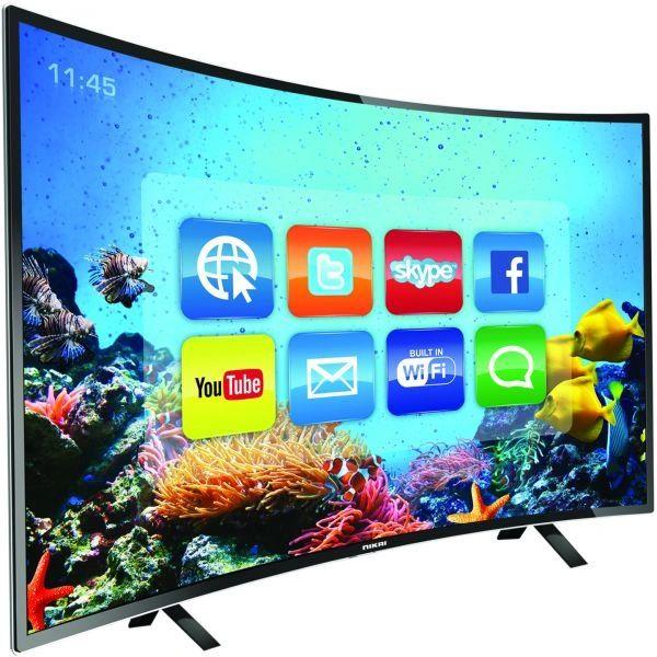 "NEX 52"" Smart Curved Screen TV"