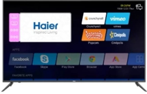 "65"" Haier Smart Android TV"