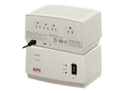 APC Line-R 1200VA - Automatic voltage regulator - AC 120