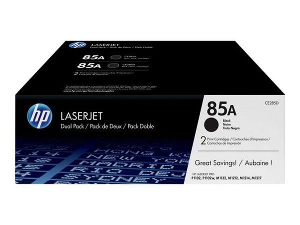 HP 85A - 2-pack - black
