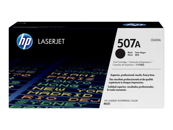 HP 507A - Black - original