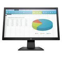 HP - LED-backlit LCD monitor - 19.5""