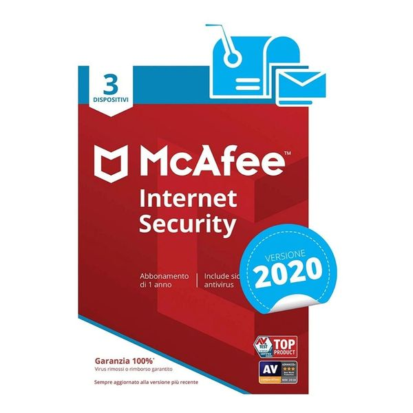 McAfee Internet Security 2020 -1 Devices Licence