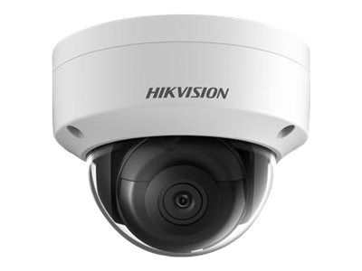 HIK - IP 8MP(4K) Dome Camera 2.8mm IR 30m H265+ 3D DNR WDR IP67 IK10 12VDC & PoE Alarm/Audio I/O