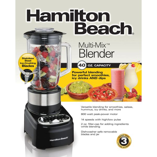 Hamilton Beach 14 Speed Blender (Glass)