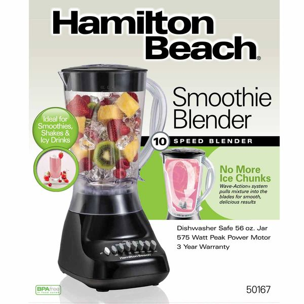 Hamilton Beach 10 Speed (Plastic) Blender