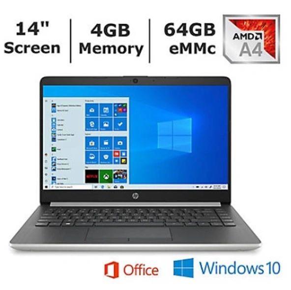 "HP Laptop 14"" (Free upgrade to Windows 10 Pro)"