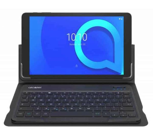 """Alcatel 10.1"""" Tablet with Keyboard Case"""